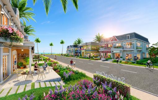Shop villa - phiên bản nâng cấp của nhà phố thương mại