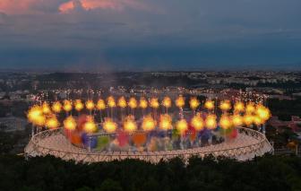 Những khoảnh khắc ấn tượng tại lễ khai mạc Euro 2020