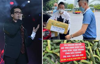 Hà Anh Tuấn góp 25 tấn gạo và các nghệ sĩ chung tay cùng cộng đồng