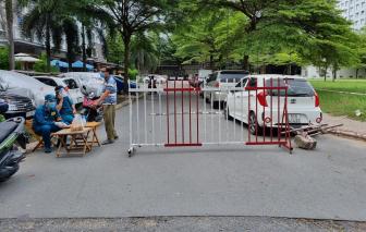 Phong tỏa thêm 2 block chung cư Ehome 3, xét nghiệm hàng ngàn người
