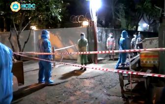 TPHCM: 12 người trong hẻm trọ đường Hồ Học Lãm nghi nhiễm COVID-19