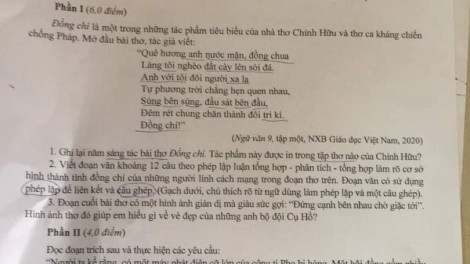 Thi vào lớp 10 tại Hà Nội: Đề Văn không mới, thời gian rút ngắn