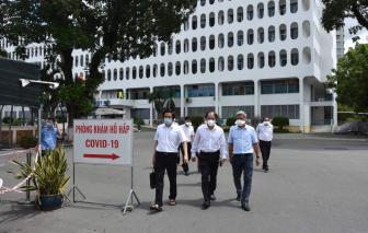 Bệnh viện Bệnh Nhiệt đới TPHCM đang cách ly 96 F1 là nhân viên y tế