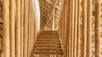 Cùng thử ý tưởng với thiết kế ngôi nhà hoàn toàn bằng tre