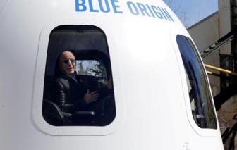 Đã có người bỏ ra 28 triệu USD để bay vào vũ trụ cùng ông chủ Amazon