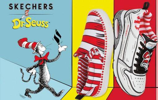 Skechers x Dr. Seuss: Bộ sưu tập lấy cảm hứng từ bộ truyện tranh đình đám