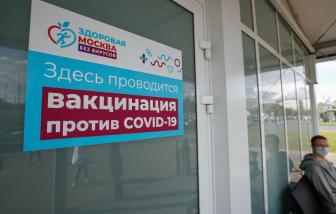 Moscow mở xổ số trúng xe hơi để khuyến khích người dân tiêm vắc xin COVID-19