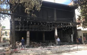 Vụ cháy làm 6 người chết: Có thể các nạn nhân chết do khí độc