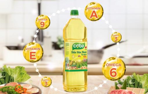 """Sau trứng gà, DABACO tiếp tục tạo """"cơn sốt"""" trên thị trường với bộ đôi dầu đậu nành cao cấp COBA và UMI"""