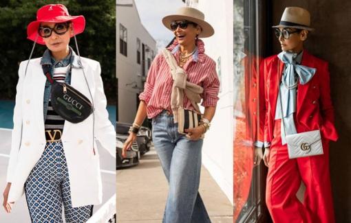 Cách phối quần áo của người phụ nữ 54 tuổi khiến nhiều người mê mẩn