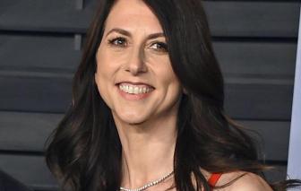Vợ cũ ông chủ Amazon, nữ tỷ phú MacKenzie Scott quyên góp 2,7 tỷ USD cho từ thiện
