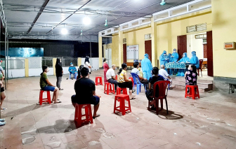 Phong tỏa 5 xã có hơn 6.000 người đến nơi chiến sĩ công an mắc COVID-19 làm căn cước công dân