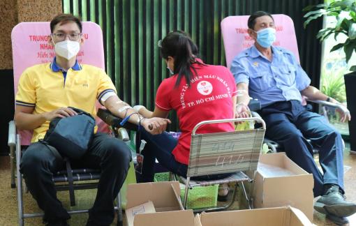 PNJ tổ chức hiến máu nhân đạo, bổ sung nguồn máu dự trữ đang cạn kiệt của TP.HCM
