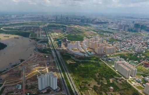 TPHCM khẩn trương điều chỉnh đồ án 1/2000 khu kế cận đô thị Thủ Thiêm để phục vụ bán đấu giá