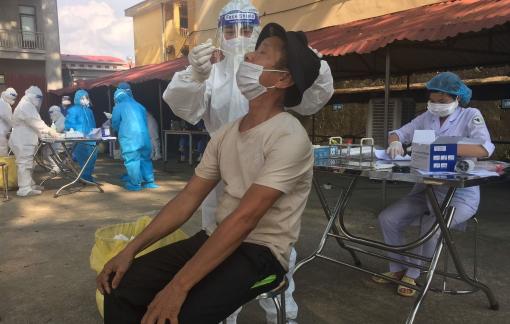Trưa 16/6: 174 người mắc COVID-19, Bắc Giang chiếm nhiều nhất