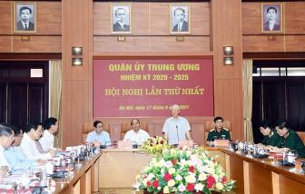 Bộ Chính trị chỉ định 25 đồng chí tham gia Quân ủy Trung ương