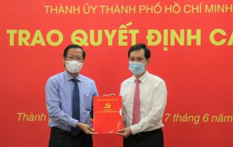 Chủ tịch UBND quận 10 nhận chức Bí thư Đảng ủy Saigon Co.op