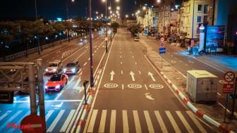 Có một Sài Gòn về đêm rất khác trong những ngày giãn cách