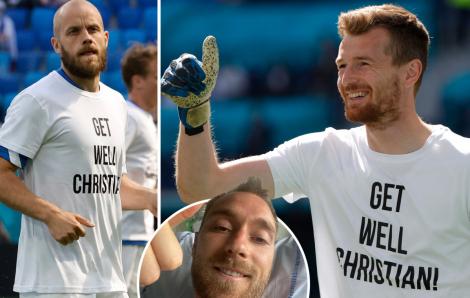 Những chiếc áo khiến nhiều người phải ngước nhìn tại Euro 2020
