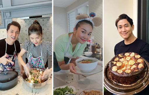 Xem nghệ sĩ Việt trổ tài vào bếp những ngày giãn cách