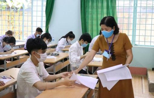 Chốt phương án thi tốt nghiệp THPT chia thành 2 đợt, đợt 1 ngày 7 và 8/7