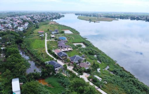 """Chủ dự án Go Green Farm xây """"lụi"""" 18 căn nhà bên sông Hương"""