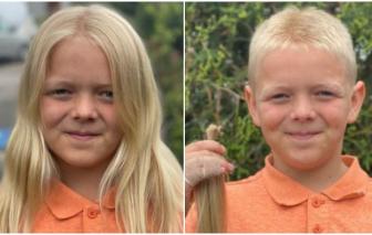 Cậu bé 11 tuổi nuôi tóc suốt 2 năm không cắt để làm từ thiện