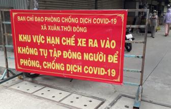 Huyện Hóc Môn: Ngày đầu giám sát theo Chỉ thị 10, hàng quán, chợ tạm nghiêm túc chấp hành