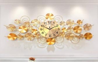 Đồng hồ decor treo tường mang tới vẻ đẹp sang trọng, hiện đại khó cưỡng