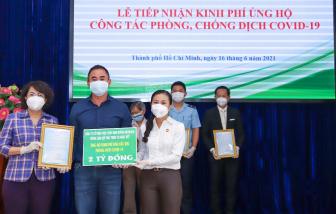 Quỹ Phát triển Tài năng Việt tiếp sức tâm dịch TPHCM