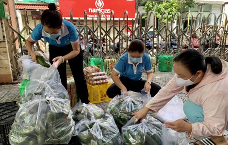 Sản vật của Lâm Đồng gửi Sài Gòn chống dịch