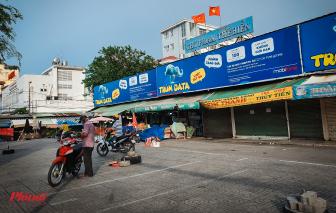 Tạm ngưng hoạt động chợ Phạm Thế Hiển để điều tra dịch tễ