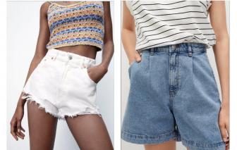 Những mẫu quần short denim được yêu thích nhất năm 2021