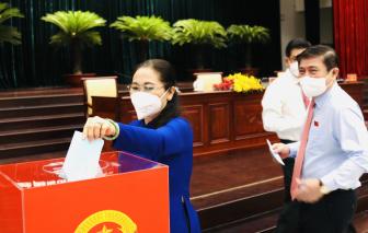 Bà Nguyễn Thị Lệ tái đắc cử Chủ tịch HĐND TPHCM