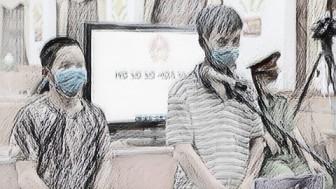 Đuổi đánh tổ kiểm soát dịch COVID-19 vì con trai bị thu diều, ông bố lĩnh 12 tháng tù