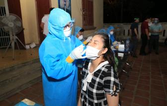 Mệt trong người, nữ tiểu thương dương tính SARS-CoV-2 khi đi test nhanh