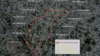 Phong tỏa theo Chỉ thị 16 một số khu vực ở Hóc Môn