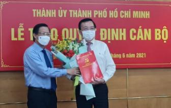 Nguyên Giám đốc Sở Giáo dục - Đào tạo TPHCM làm Phó trưởng Ban Tuyên giáo Thành ủy TPHCM