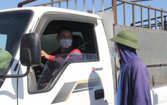 Test nhanh trên đường từ Quảng Ngãi ra Quảng Ninh, tài xế xe tải dương tính với SARS-CoV-2