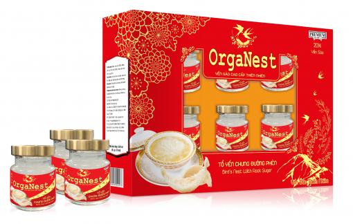 Tổ yến chưng đường phèn Organest - bí quyết khỏe đẹp mỗi ngày