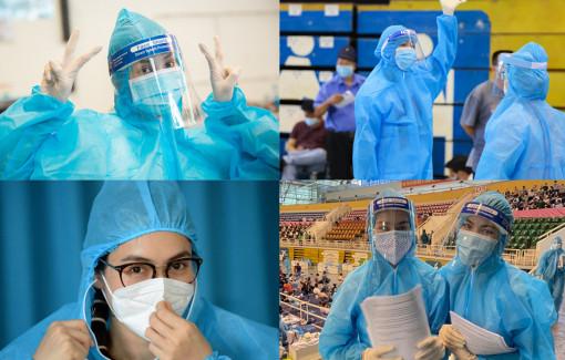 Dàn hoa hậu, á hậu Việt Nam bỏ son phấn hỗ trợ công tác chống dịch COVID-19