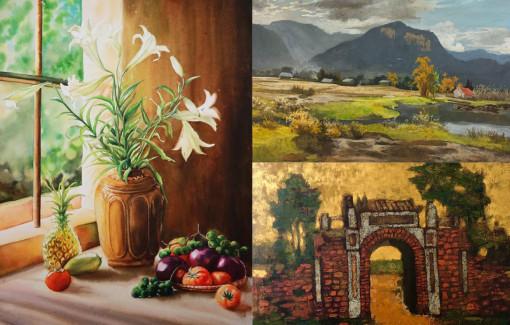 Nhiều họa sĩ đưa tranh đi đấu giá để gây quỹ chống dịch COVID-19