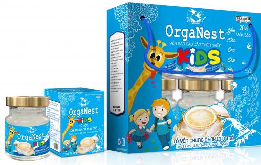 Tổ yến chưng dành cho trẻ  Organest  Kids - món quà sức khỏe thông thái mẹ dành cho con