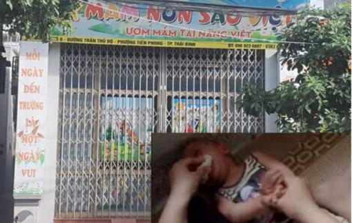 Bộ GD-ĐT yêu cầu xử lý nghiêm vụ trẻ bị nhét giẻ vào miệng trong lớp học