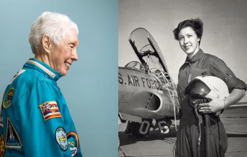 Nữ phi công 82 tuổi sẽ bay lên vũ trụ cùng tỷ phú Jeff Bezos