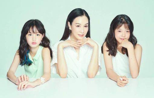 Nhan sắc hai con gái xinh đẹp của sao gốc Việt Chung Lệ Đề