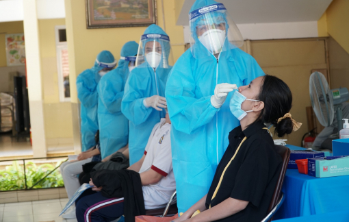 Đồng loạt xét nghiệm COVID-19 cho thí sinh trước kỳ thi tốt nghiệp THPT