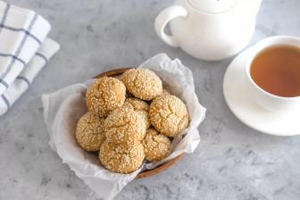 Công thức làm bánh quy mè siêu dễ trong 15 phút