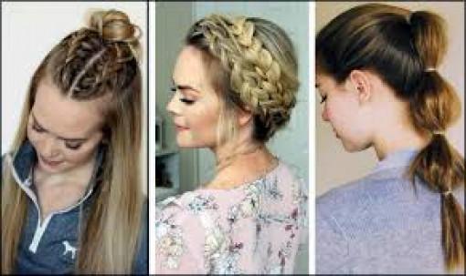 """Những kiểu tóc đơn giản giúp chị em """"làm điệu"""" những ngày giãn cách"""