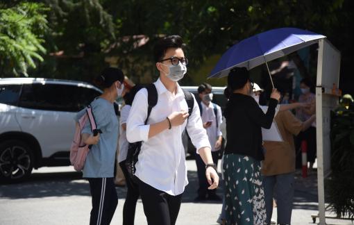 Hà Nội: Một thí sinh bị đình chỉ thi môn Văn